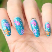 under the sea nail art design | Nail Art by Nora 2014 ...