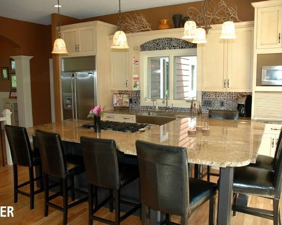 Multi Level Kitchen Island Pictures Pin By Julie Kleinke Durr On This Is It....i Hope! Lol