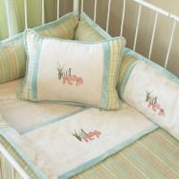 Beach baby bedding