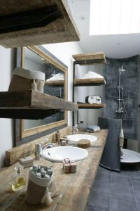 Rustic industrial bathroom ideas | Architecture | Pinterest