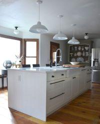 DIY kitchen island waterfall edge   kitchens I want to ...