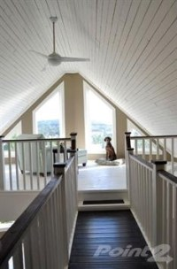 vaulted beadboard ceiling | Lofty Ideas | Pinterest