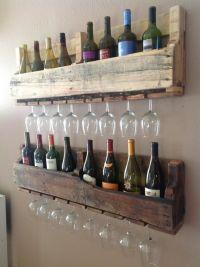 Pallet wine rack | Wine | Pinterest