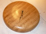 Oak Wall Clock. | Cool Woodturning | Pinterest