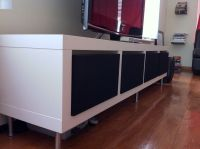 IKEA Hackers: Clean Minimalist TV Stand | For the Home ...