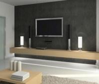 tv accent wall | Den | Pinterest