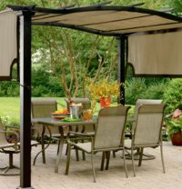 Pergola Rain Covers Fabric | Pergola / Gazebos Roofs ...