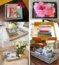 Coffee table tray ideas | d e s i g n & d e c o r | Pinterest