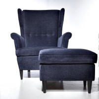 Use the STRANDMON wing chair to inspire comfort and luxury ...