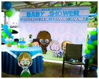Star wars baby shower | Babyjack | Pinterest