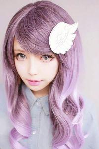Lavender hair color | Styling Hair | Pinterest