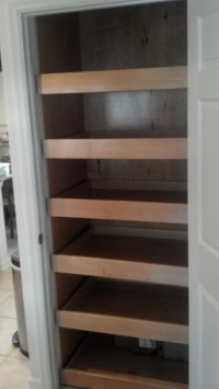Pantry Cabinet pull out shelves | For the Home | Pinterest