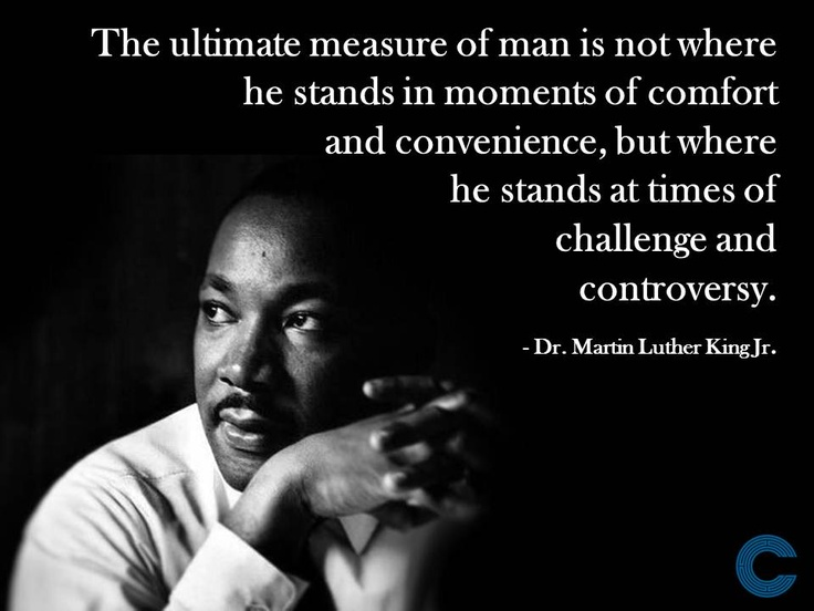 Martin Luther King Day Is The Equality Glass Half Empty
