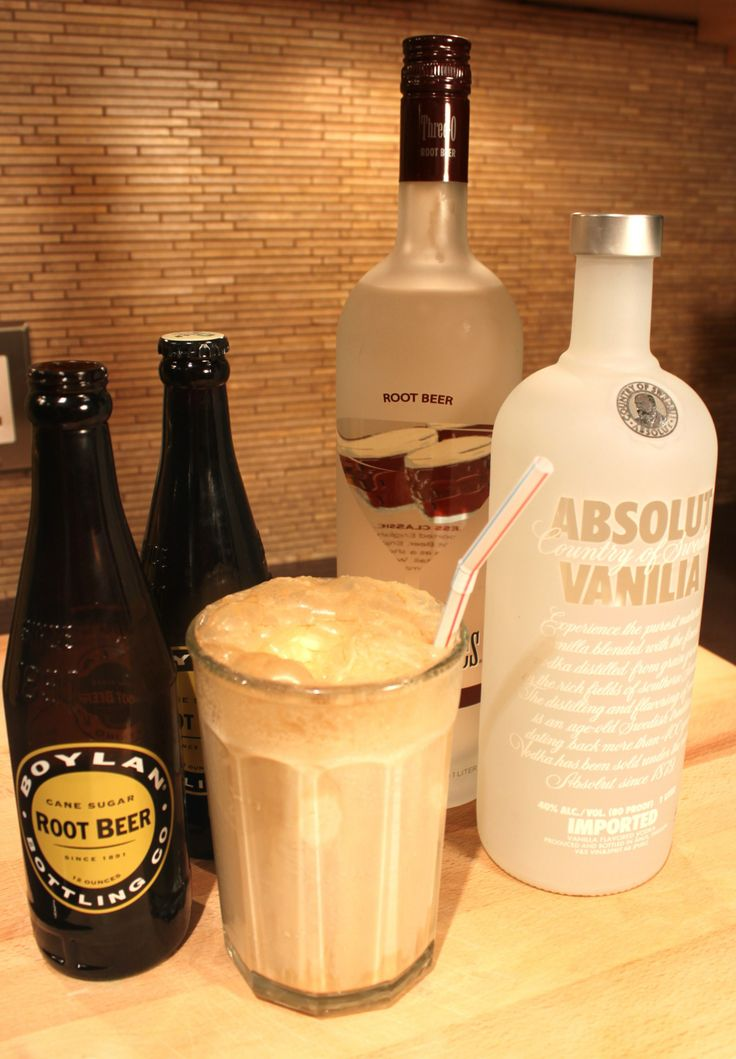 2 Adult Root Beer Float