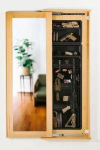 concealed-gun-cabinet | Arsenal | Pinterest