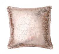 Metallic 18x18 Pillow, Rose Gold