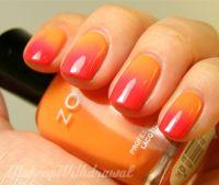 ombre nail color   Ombre   Pinterest