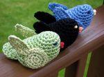 Caroline S Bird Free Crochet Pattern Crochet Birds Pinterest