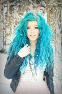 Turquoise hair dye | Hair ideas | Pinterest