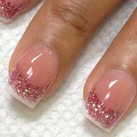 Nail design ideas girly cute nails girl nail polish nail ...