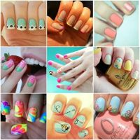 cool ideas for painting your nails | Nail arts | Pinterest