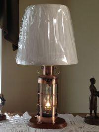 Nautical Collectible Decor Ships Lantern Table Lamp ...