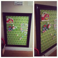 DIY magnetic board | DIY & Crafts | Pinterest