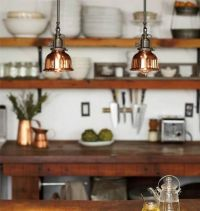 Drop lights in the Kitchen | Kitchen/Pantry/Eatery | Pinterest