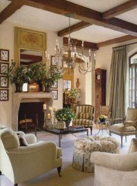 Beautiful French Country Living Room | Decorating | Pinterest