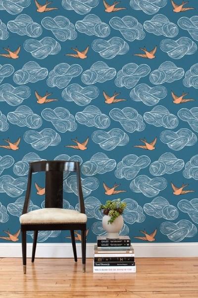 Scenery Wallpaper: Removable Wallpaper Tiles