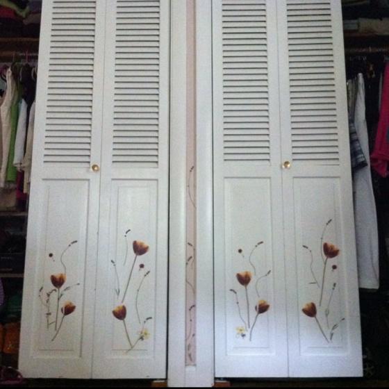 Closet Doors: Closet Door Decals