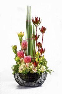 Contemporary floral arrangement | Floral Design Ideas ...