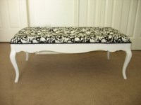 Repurposed Coffee Table Shabby Chic Black and White. $145 ...