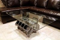Engine Block Coffee Table   OTHER USES FOR . . .   Pinterest