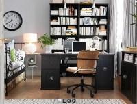 like guest bedroom/office combo | Minimalist decor | Pinterest