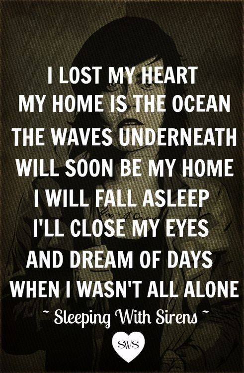 Falling In Reverse Wallpaper Lyrics Depression Sleeping With Sirens Quotes Quotesgram