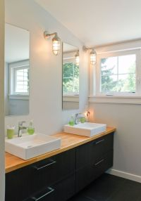 Ikea hack bathroom vanity | bathroom | Pinterest