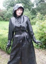 Black Rubber Raincoat RAINWEAR Pinterest
