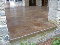 Patio concrete stain & sealer by CrisC | Ardnabel | Pinterest