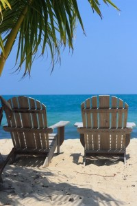 Adirondack chairs love! | Beach Destinations | Pinterest