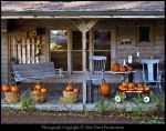 Autumn Country Porch