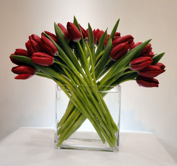 Tulips Flower Arrangement Tulip Flower Arrangement | Tablescapes | Pinterest