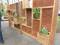 Creative Outdoor Privacy Wall | Backyard | Pinterest