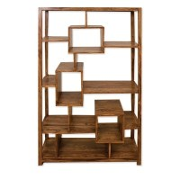 Cubex Living Geometric Bookcase