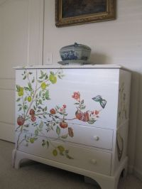 Hand painted furniture | Home Decor | Pinterest
