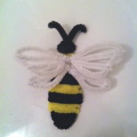 Pipe-cleaner bumble bee ^_^ | Nanabe's hobbies | Pinterest