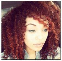 Pretty color   FUN Natural Hair   Pinterest