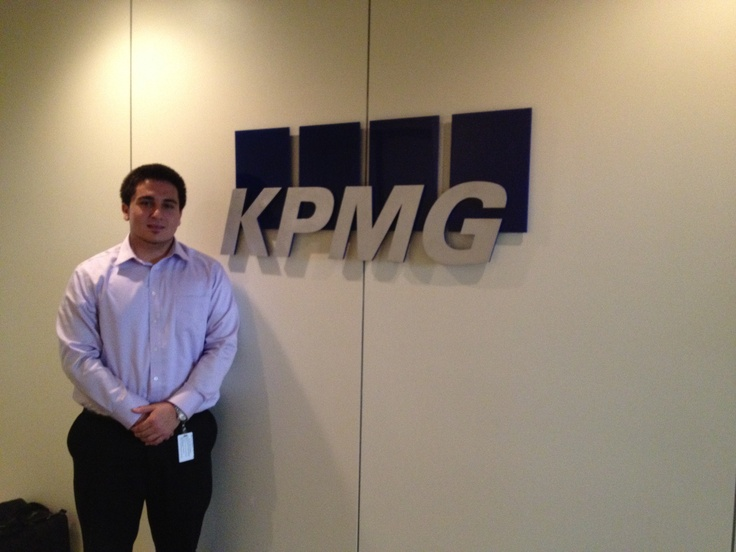 Kpmg Internship Full Time Opportunities For Students Artan Ferati 32 Mba Class Of 2014 Major Finance And