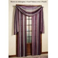 Window scarf | Window Treatments | Pinterest