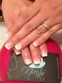 Nails art, acrylic nails, wedding nails